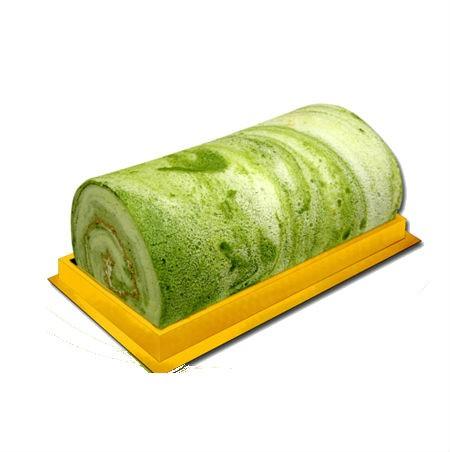抹茶布捲 彌月蛋糕